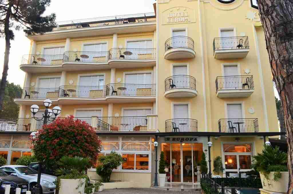 Hotel Europa Milano Marittima Contatti